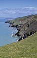 The view up the coast north of Llanrhystud (Day 10)