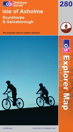 OS Explorer Map 280 Isle of Axholme