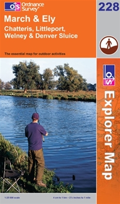 OS Explorer Map 228 March & Ely