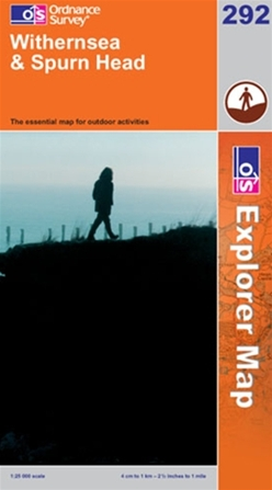 OS Explorer Map 292 Withernsea & Spurn Head