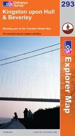 OS Explorer Map 293 Kingston upon Hull & Beverley