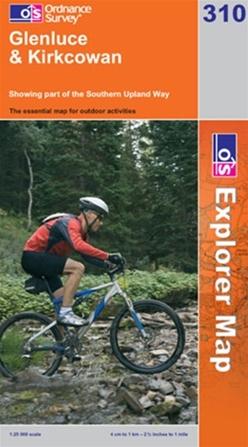 OS Explorer Map 310 Glenluce & Kirkcowan