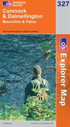 OS Explorer Map 327 Cumnock & Dalmellington