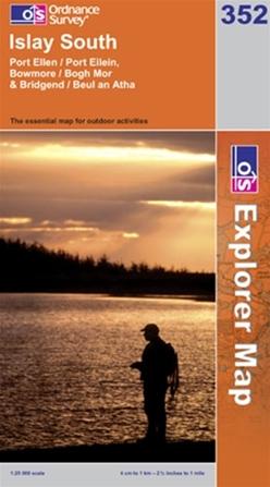 OS Explorer Map 352 Islay South