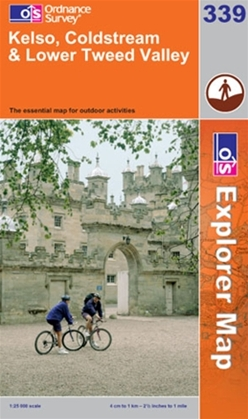 OS Explorer Map 339 Kelso, Coldstream & Lower Tweed Valley