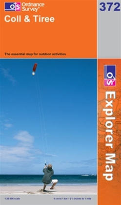 OS Explorer Map 372 Coll & Tiree