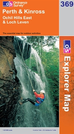 OS Explorer Map 369 Perth & Kinross