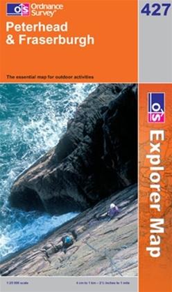 OS Explorer Map 427 Peterhead & Fraserburgh