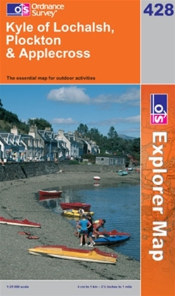 OS Explorer Map 428 Kyle of Lochalsh, Plockton & Applecross