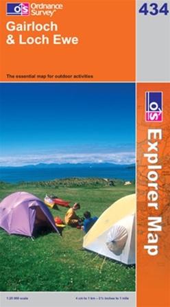 OS Explorer Map 434 Gairloch & Loch Ewe