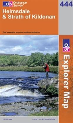 OS Explorer Map 444 Helmsdale & Strath of Kildonan