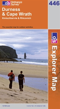 OS Explorer Map 446 Durness & Cape Wrath