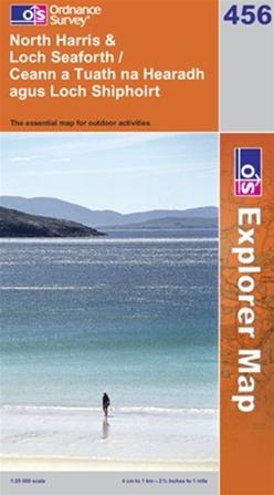 OS Explorer Map 456 North Harris & Loch Seaforth