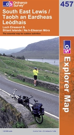 OS Explorer Map 457 South East Lewis