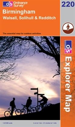 OS Explorer Map 220 Birmingham