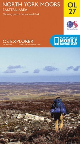 OS Explorer Map OL 27 - North York Moors: Eastern Area