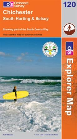 OS Explorer Map 120 Chichester