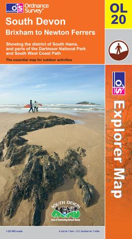 OS Explorer Map OL 20 South Devon