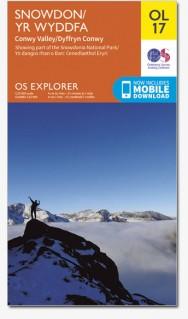 OS Explorer Map OL 17 Snowdon