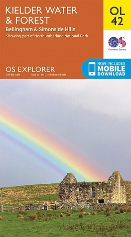 OS Explorer Map OL 42 Kielder Water & Forest