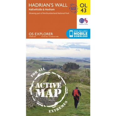 OS Explorer Active - 43 - Hadrian's Wall