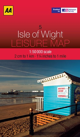 AA Leisure Map - Isle of Wight