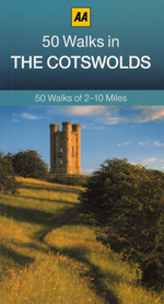 AA 50 Walks in The Cotswolds