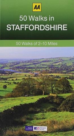 AA 50 Walks in Staffordshire