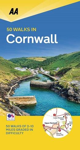 AA 50 Walks in Cornwall