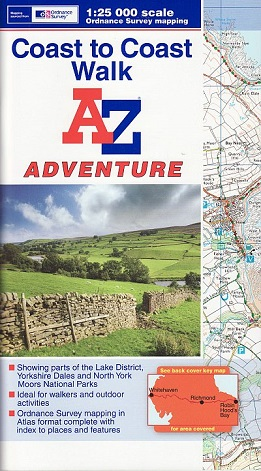 Coast to Coast A-Z Adventure Atlas