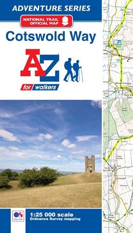 A-Z Adventure Atlas - Cotswold Way