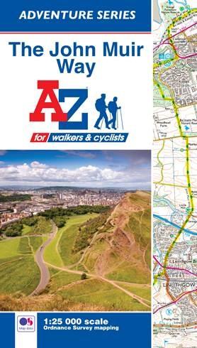 A-Z Adventure Map - The John Muir Way