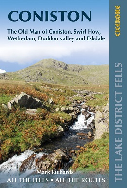 Walking the Lake District Fells - Coniston The Old Man of Coniston, Swirl How, Wetherlam, Duddon valley and Eskdale