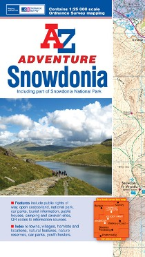 A-Z Adventure Snowdonia