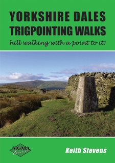 Yorkshire Dales Trigpointing Walks - hill walking with a point to it!