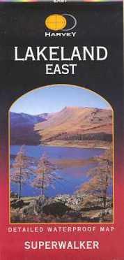 Harvey Superwalker map - Lakeland East