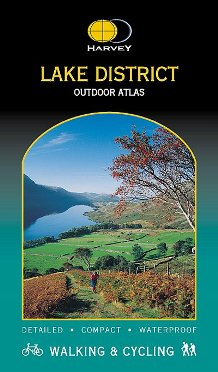 Harvey Lake District Outdoor Atlas