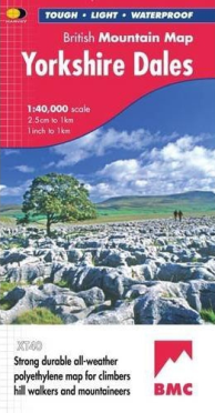 Yorkshire Dales British Mountain Map
