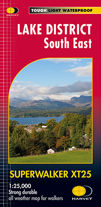 Lake District South East - Superwalker XT25