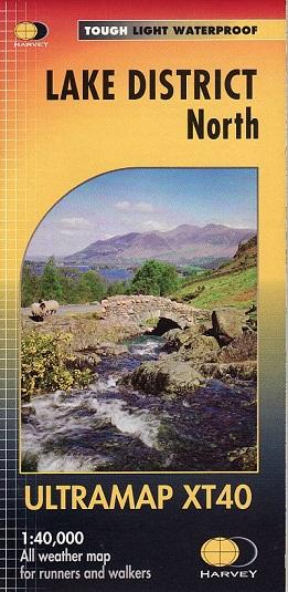 Lake District North - Ultramap XT40