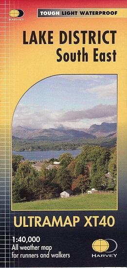 Lake District South East - Ultramap XT40