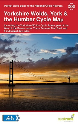 Yorkshire Wolds, York & the Humber Cycle Map