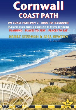 Cornwall Coast Path (South-West Coast Path Part 2) - Bude to Plymouth