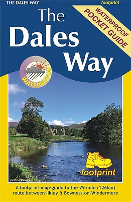 The Dales Way - Footprint Map-Guide