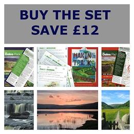 Yorkshire Dales Walking Guide Set (3 Volumes)