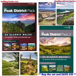 The Peak District Pack set - 2 volumes