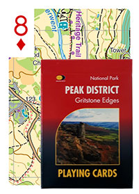 Peak District Gritstone Edges Playing Cards