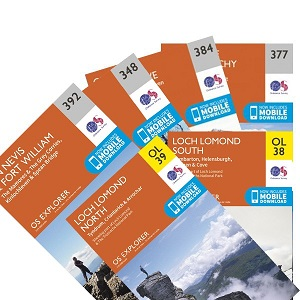 West Highland Way - OS Map Bundle