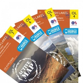 Lake District OS ACTIVE Map Bundle