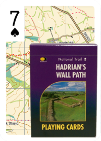 Hadrian's Wall Path Playing Cards
